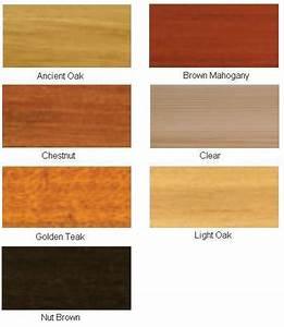 Roof Paint Colour Chart Wood Treatments Colour Chart