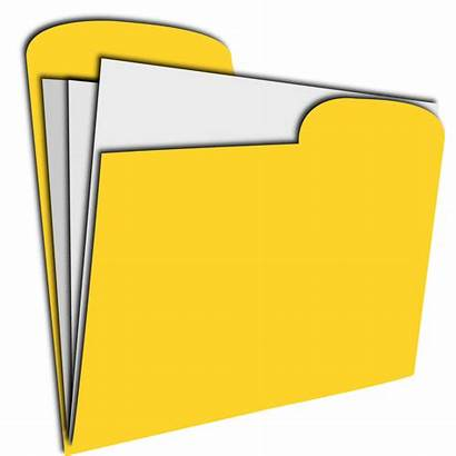Document Yellow Clipart Record