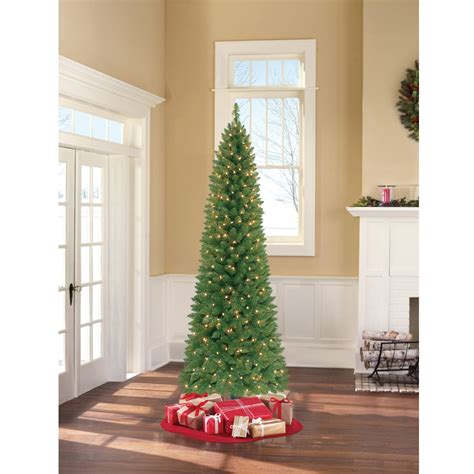 christmas tree prelit national tree pre lit 7 1 2 dunhill fir hinged artificial 5712
