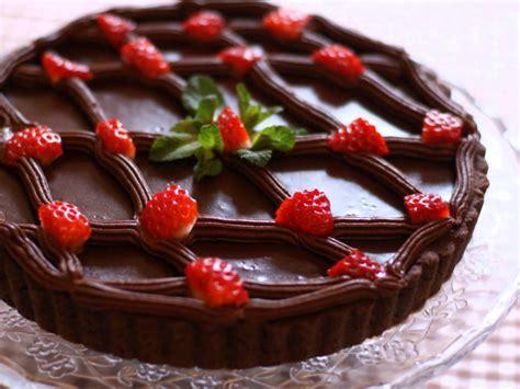 amour de cuisine de soulef tarte au chocolat et fraises