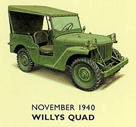 willys quad les objets à usage militaire rentrés dans notre quotidien