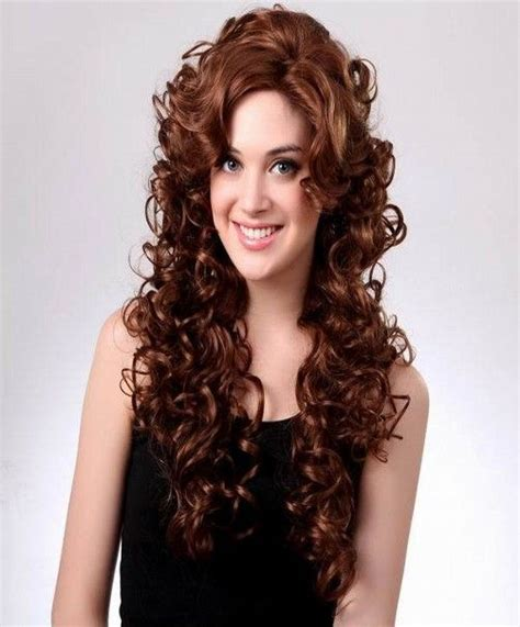 different and colorful hairstyles with curly hairs ideas