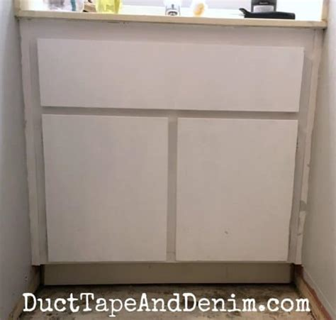 paint bathroom cabinets  easy