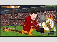 r4six cartoon Speedy Bale gives Real Madrid the edge