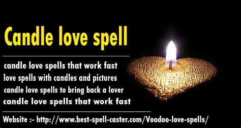 World's Top 5 Candle Love Spells Works 100 % Genuinely