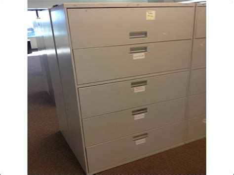 Used Hon 2 Drawer Lateral File Cabinet by Hon 42 Wide 5 Drawer Lateral Files Used Filing Cabinets