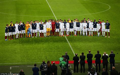 England Fans Sing Marseillaise Before France Friendly