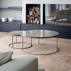 Table Basse Notre Monde : buy notre monde heavy aged mirror coffee table set round amara ~ Melissatoandfro.com Idées de Décoration