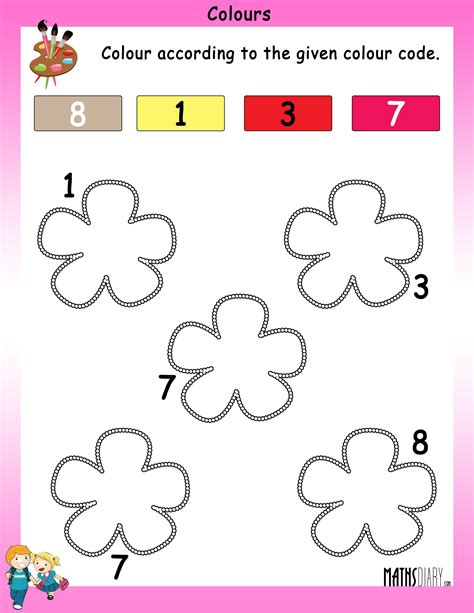 colouring worksheet for nursery class worksheet for