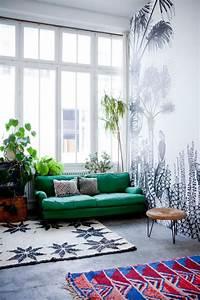 mettez un canape vert et personnalisez l39interieur With tapis de yoga avec creer canape