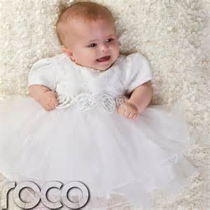 infant wedding dresses baby white dress wedding babys bridesmaid flower babies dresses 3 18m ebay