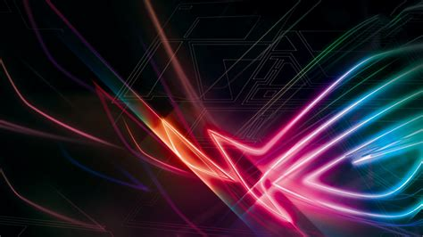 neon rog  wallpapers hd wallpapers id