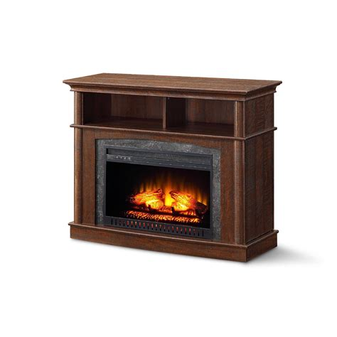whalen media fireplace console  tvs    rustic