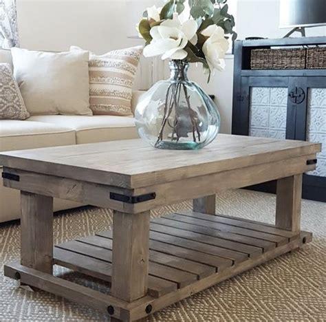Build your own rustic cube end tables. DIY Industrial Coffee Table | TABLES - DIY in 2019 | Wooden coffee table designs, Farmhouse ...
