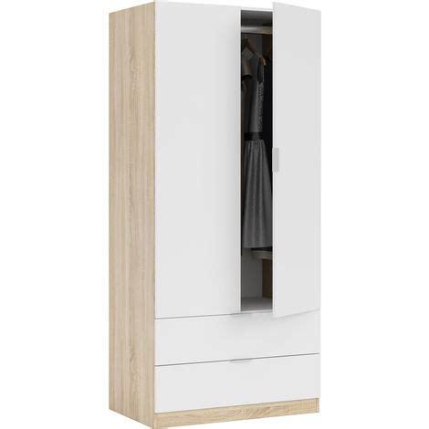 armadio guardaroba offerte kit armadio bianco 2 ante cassetti guardaroba mobile