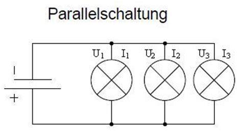 grundlagen der elektronik reihen und parallelschaltung