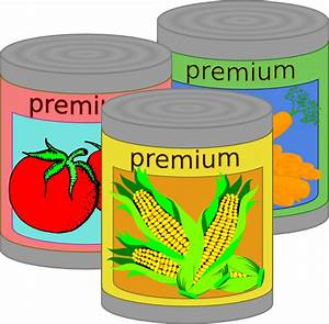 Canned Goods Clip Art at Clker.com - vector clip art ...