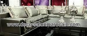 Décoration Orientale Moderne : meuble orientale salon marocain deco salon marocain ~ Teatrodelosmanantiales.com Idées de Décoration