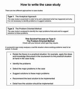 Case study template 6 download in pdf psd for Template for writing a case study