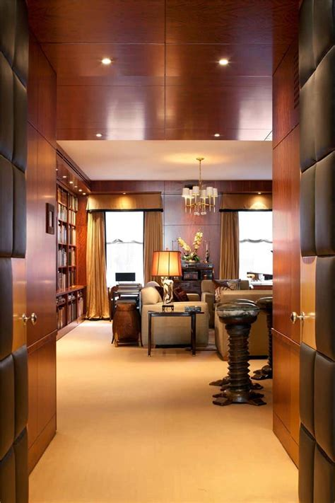 modern penthouse displaying  artistic flare   york