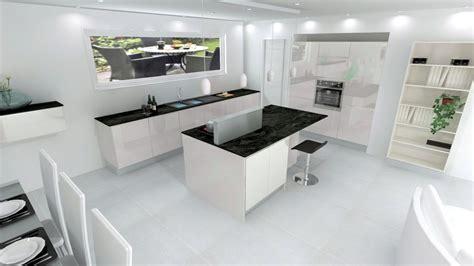 cuisine sans poign馥 plan de travail cuisine blanche maison design bahbe com