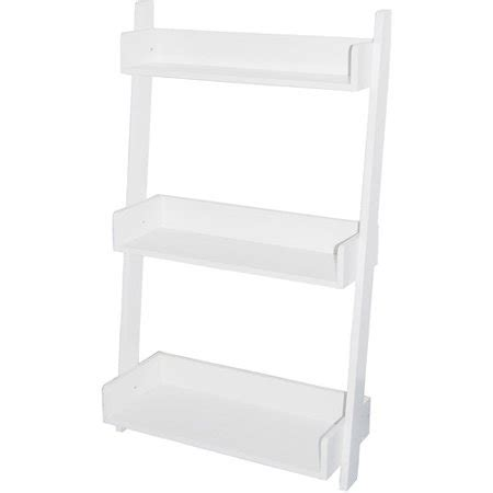 Leaning Bookcase Walmart by Leaning 3 Tier Bookcase Colors Walmart
