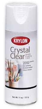 Krylon Crystal Clear Finish Spray