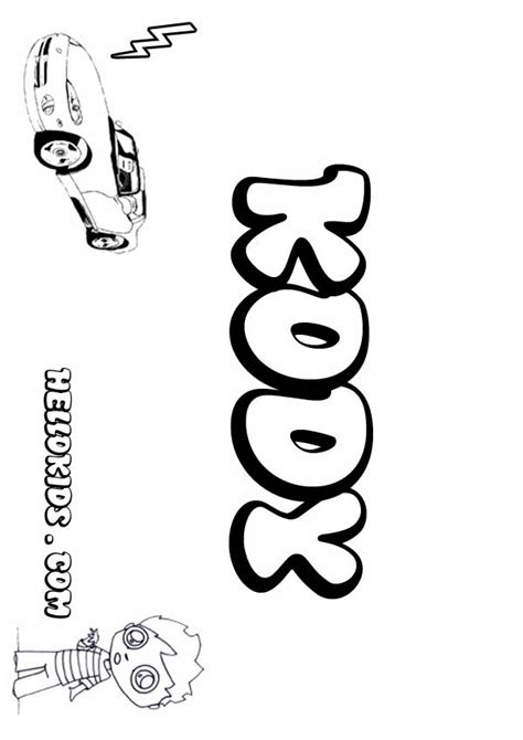 boys names coloring pages coloring home