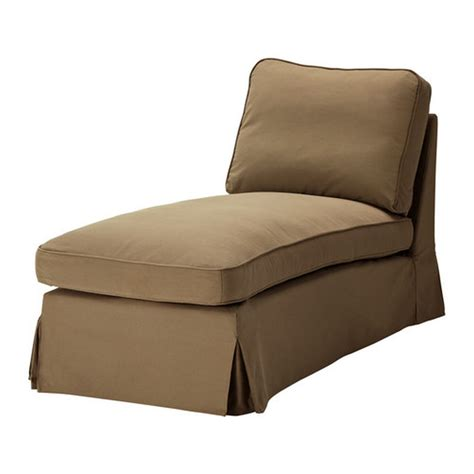 ikea ektorp chaise lounge ikea ektorp free standing chaise cover slipcover idemo light brown