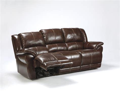 Furniture Reclining Sofa by Furniture Signature Designlenoris Coffee Reclining