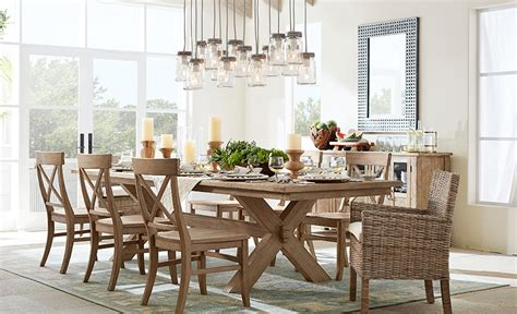 dining room lighting ideas   style pottery barn