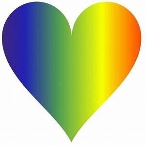 Rainbow Heart 3 Free Stock Photo