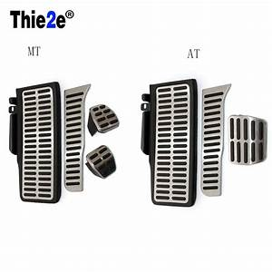 Stainless Steel Metal Automatic At Manual Mt Pedal For