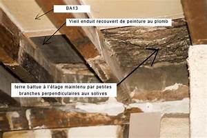 Enduit De Lissage Au Rouleau Pour Plafond : enduit chaux entre solives au plafond forum charpente ~ Premium-room.com Idées de Décoration
