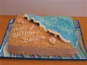 Wedding cakes on Pinterest Ocean Cakes, Beach Themed