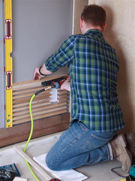 design  wood slat wall  tos diy