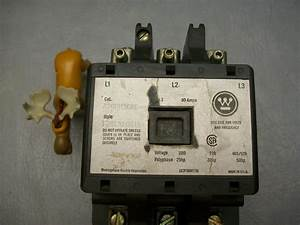Westinghouse A200m3cac Starter 120v Coil Contacts