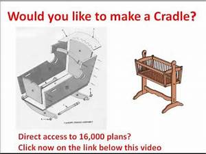 Doll cradle plans: Would you like to make a Cradle? click