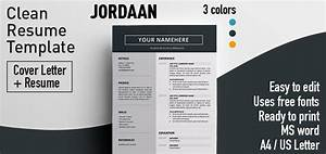 formatted resume jordaan clean resume template