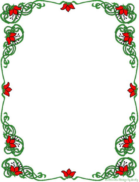 holiday stationery stationery border free download clip art free clip art