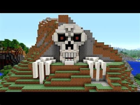 minecraft tutorial     skeleton house scary halloween house cave house sku