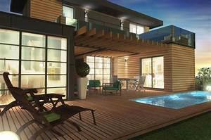 Maison Modulaire Bois : maison modulaire bois 80 m primo extenso ~ Melissatoandfro.com Idées de Décoration
