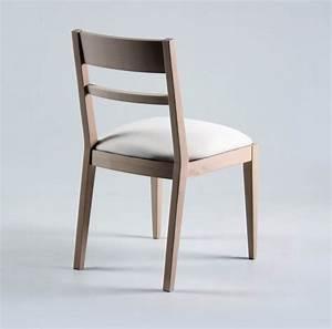 Chaise En Bois Massif : chaise contemporaine en bois brin d 39 ouest ~ Teatrodelosmanantiales.com Idées de Décoration