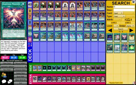 Yugioh Satellarknight Deck April 2015 by Yugioh Igknight Deck Profile