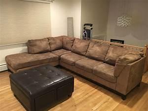 letgo - Ashley furniture microfiber sec... in Park Ridge, NJ