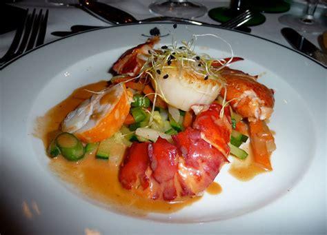 cuisiner un homard congelé recette d 39 une salade de jacques et homard