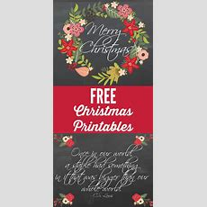 Free Christmas Printables! Cute & Fun!  Designer Trapped
