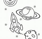 Coloring Space Alien Pages Spacecraft Comments Spaceship Colouring Hellokids sketch template