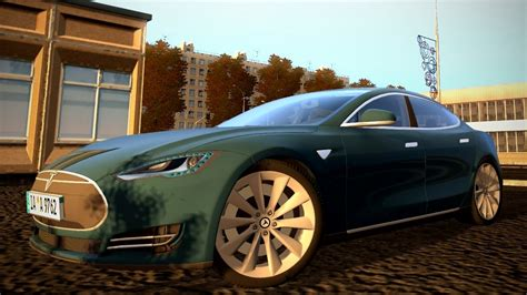 City Car Driving 1.5.3 Tesla Model S Logitech G27 [1080p