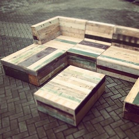 recycled pallet garden furniture patio plans
